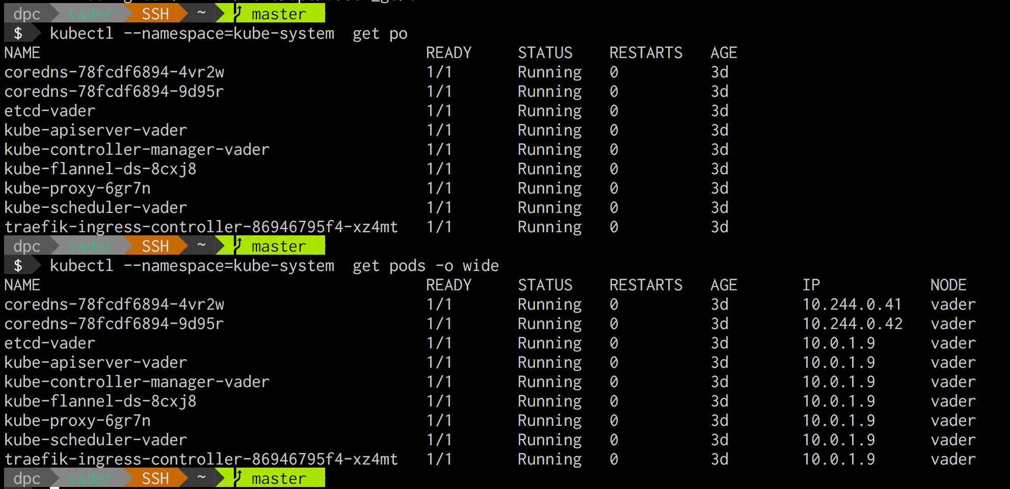 Kubernetes 1 11 on Ubuntu 18 04 bare-metal single host